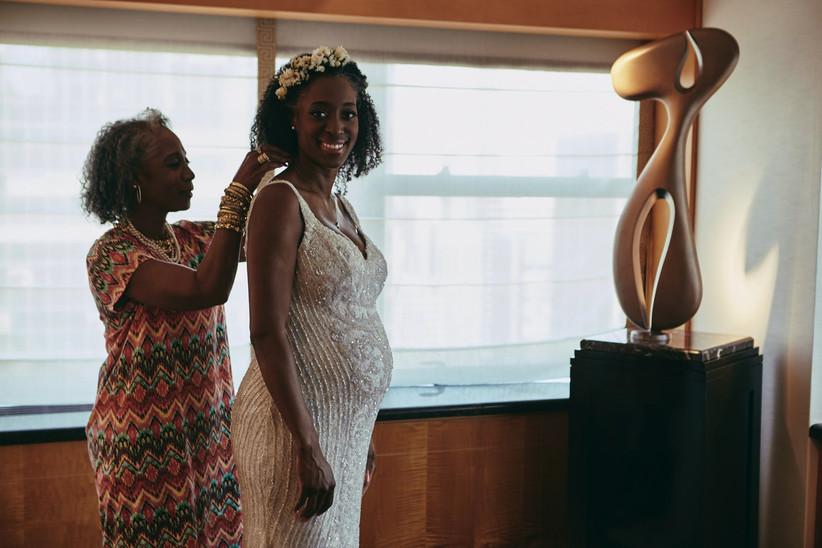 Advice for Pregnant Brides