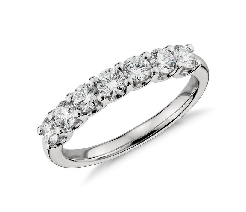 Luna Seven Stone Ring