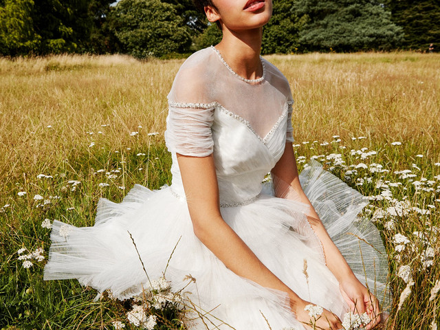 First Look at THE OUTNET X Jenny Packham's Dreamy Bridal Collection