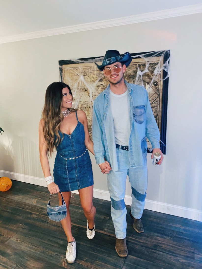 Couples Halloween Costume Britney and Justin