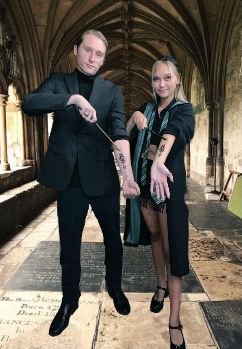 Couples Halloween Costume Harry Potter