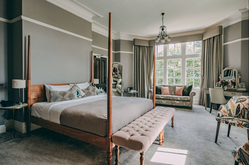 Chic and stylish bedroom