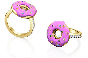 The World's First Doughnut Engagement Ring is Here!