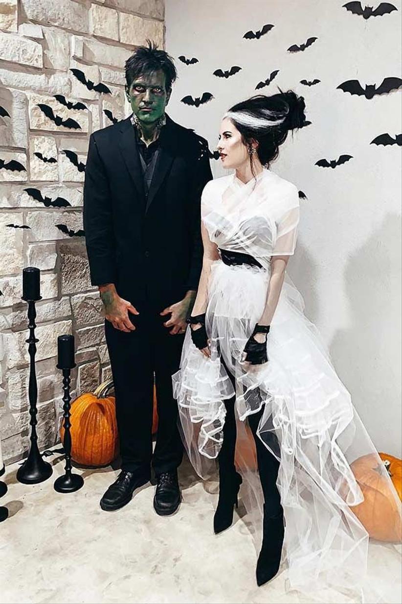 Couples Halloween Costume Frankenstein