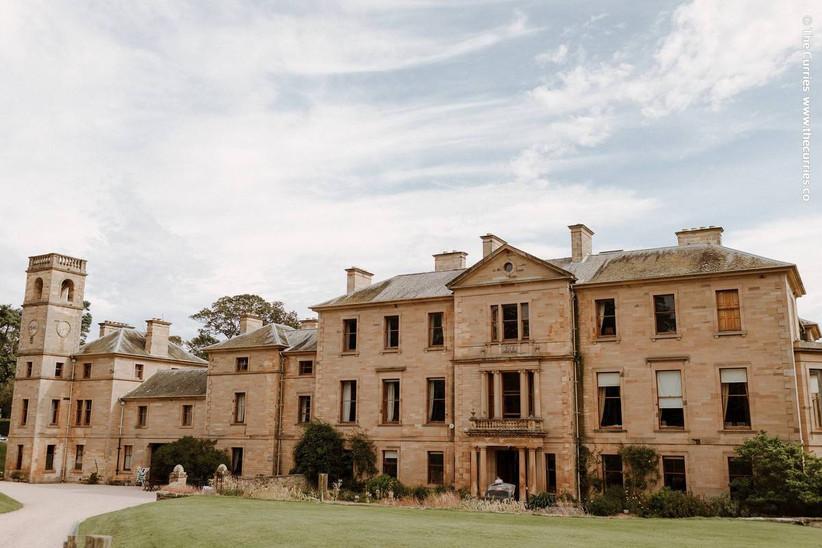 Large house wedding venue