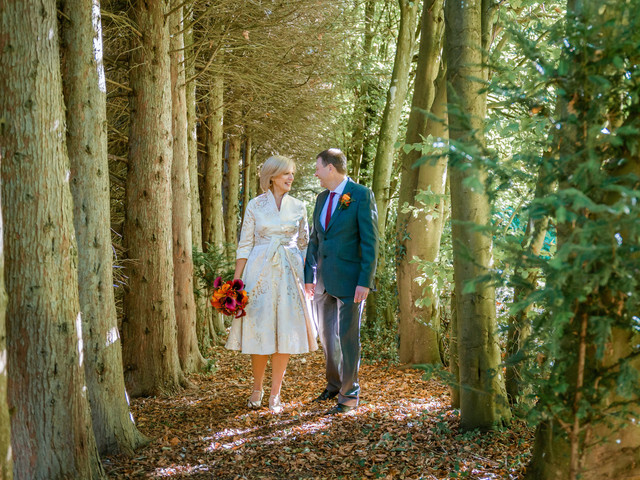 Real Covid Wedding: Ian and Sue, Chiseldon House Hotel, Swindon