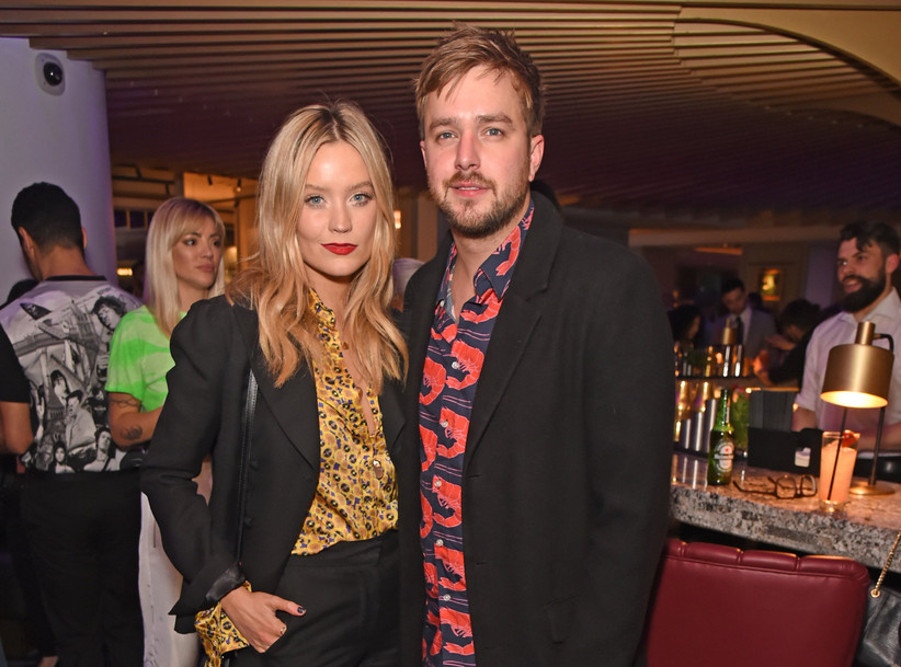 Laura Whitmore and Iain Stirling
