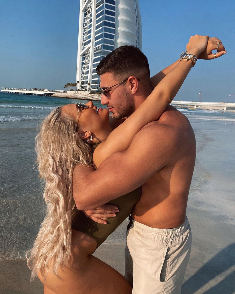 Molly Mae and Tommy Fury from Love Island