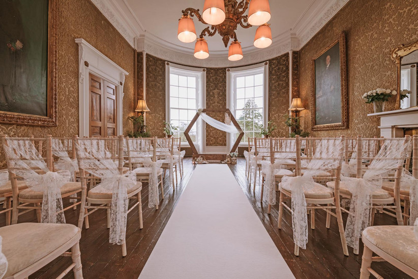 Ceremony room at Raemoir House