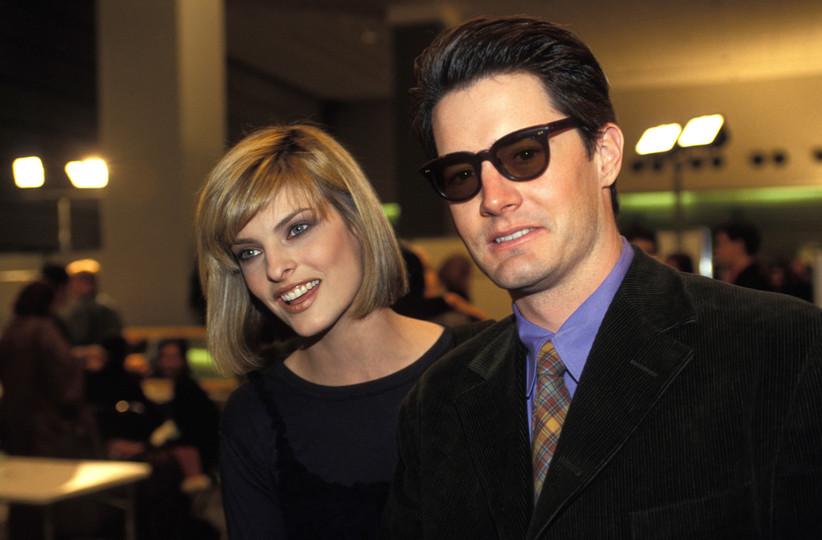 Kyle MacLachlan and Linda Evangelista