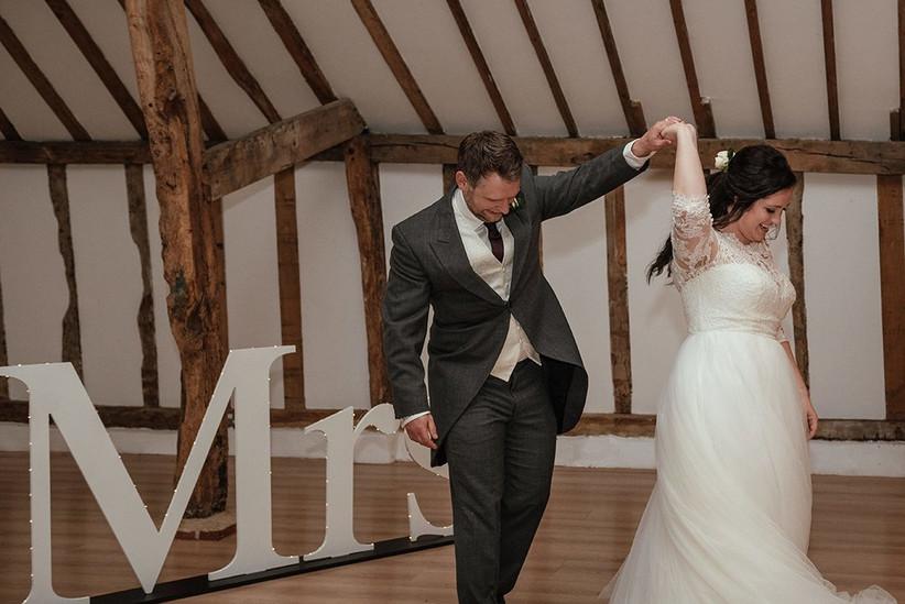 Becky and Ben's first dance