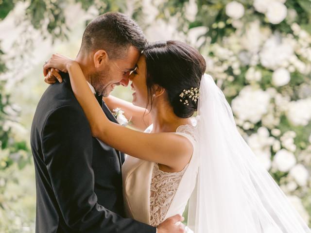 Real Covid Wedding: Jody and Daniel, Fairyhill by Oldwalls