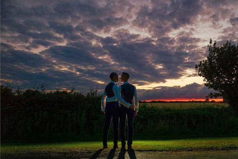 grooms-in-front-of-sunset-2