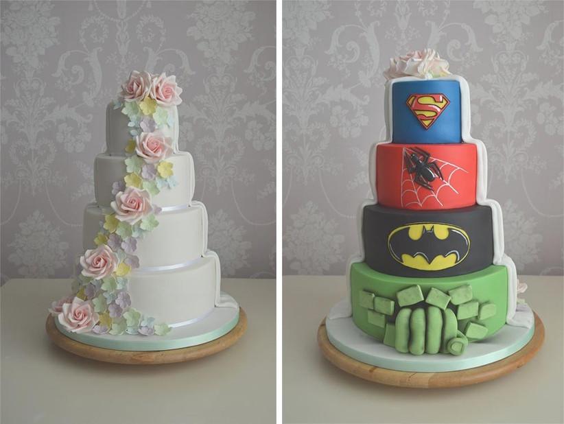 superhero-compromise-wedding-cake