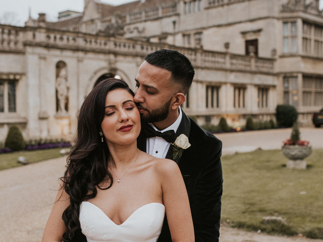 An Elegant Wedding at Northampton Cathedral with an Enzoani Dress
