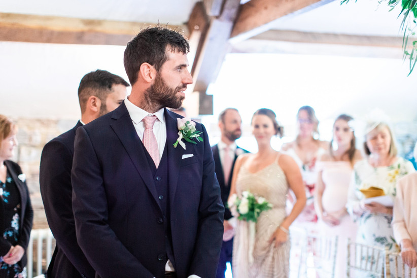 Jen and Mark - Almonry Barn Wedding