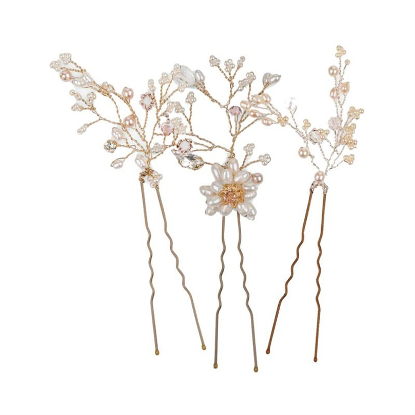 rose-gold-floral-hair-accessories