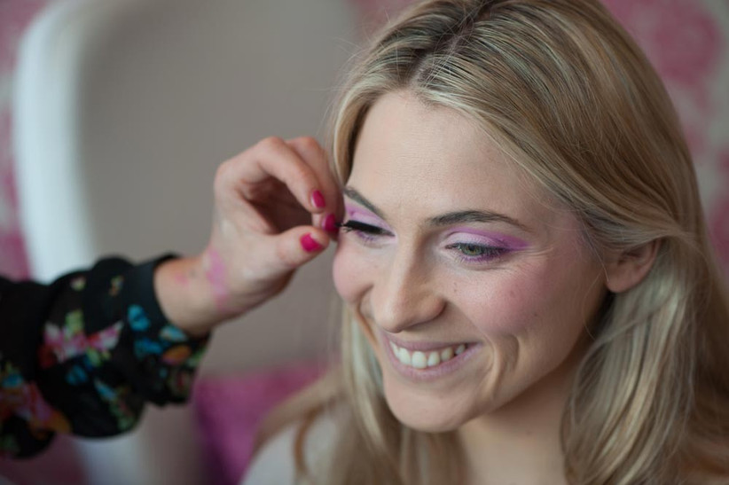 bride-to-be-with-80s-inspired-brow-makeup-for-a-themed-hen-party-2