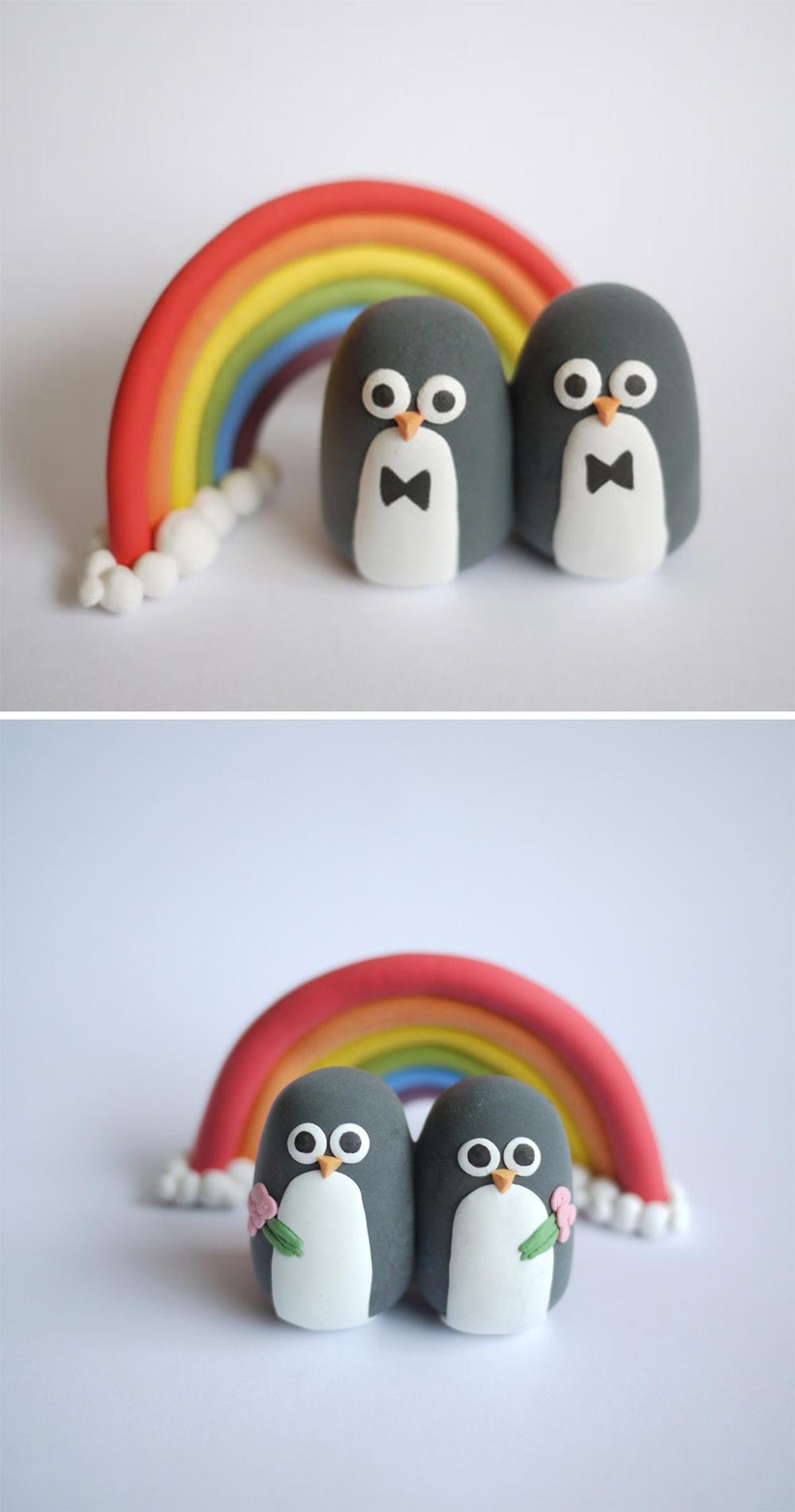 penguin-wedding-cake-toppers