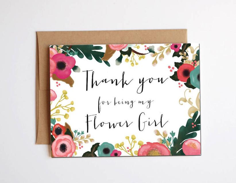 floral-bridesmaid-card