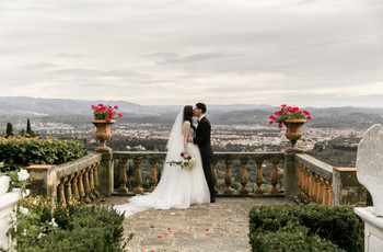 A Glamorous, Fairytale Italian Wedding at the Belmond Villa San Michele in Florence