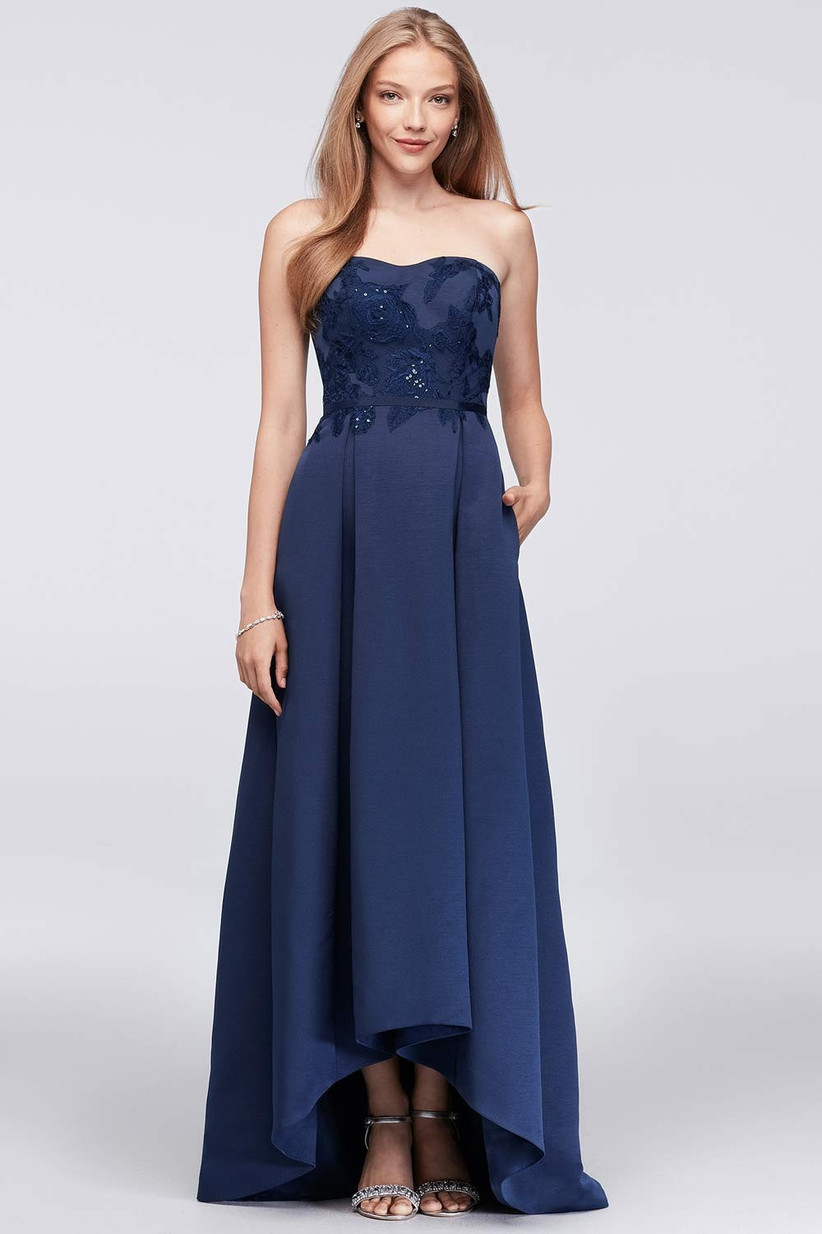 The Best Navy Bridesmaid Dresses Hitched Co Uk