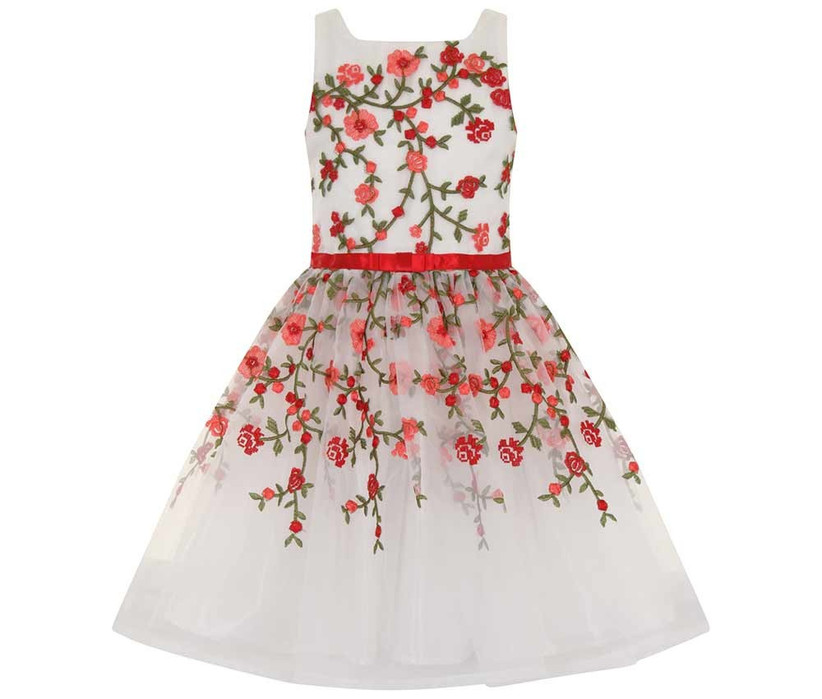 red-and-white-flower-girl-outfit