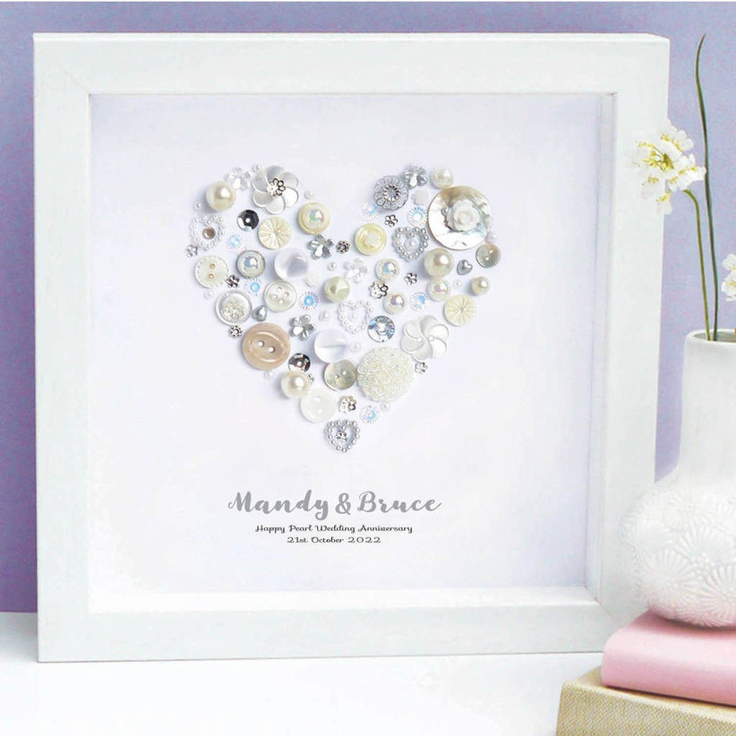 30th Wedding Anniversary Our Favourite Pearl Gift Ideas Hitched Co Uk