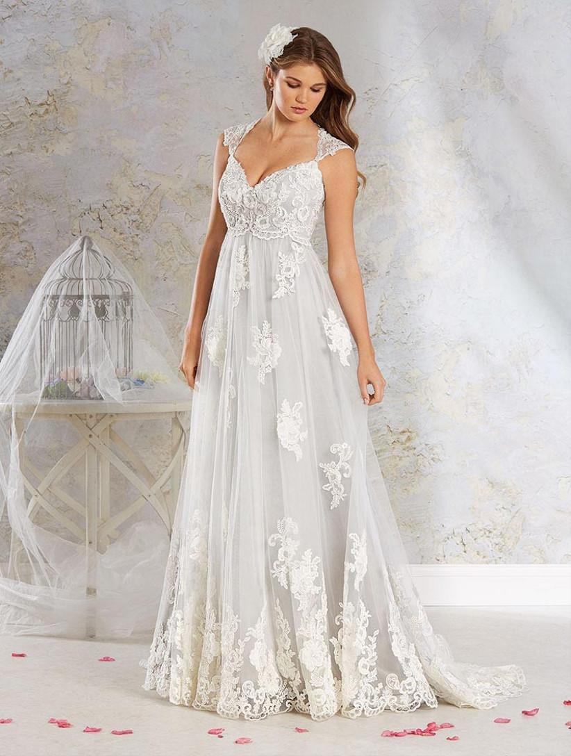 grey-fairytale-wedding-dress