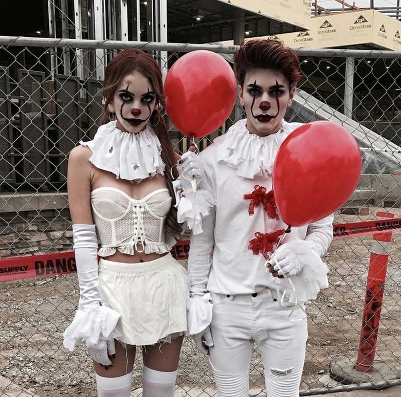 Couples Halloween Costumes Pennywise