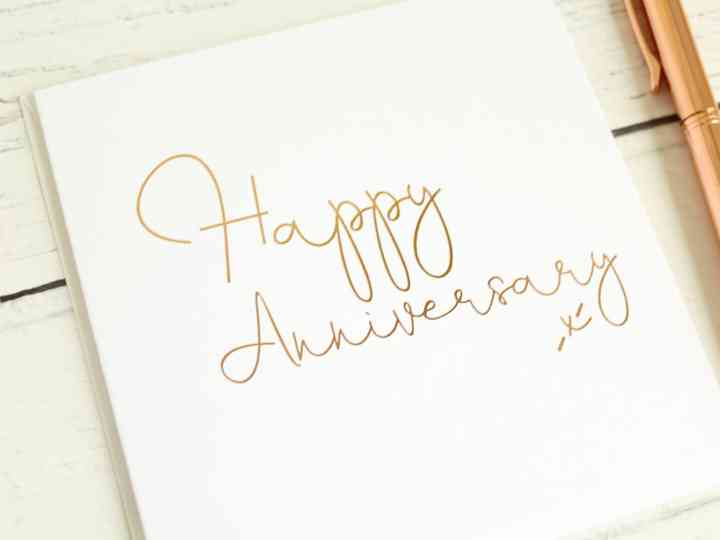 Wedding Anniversaries Your Year By Year Wedding Anniversary Gift Guide
