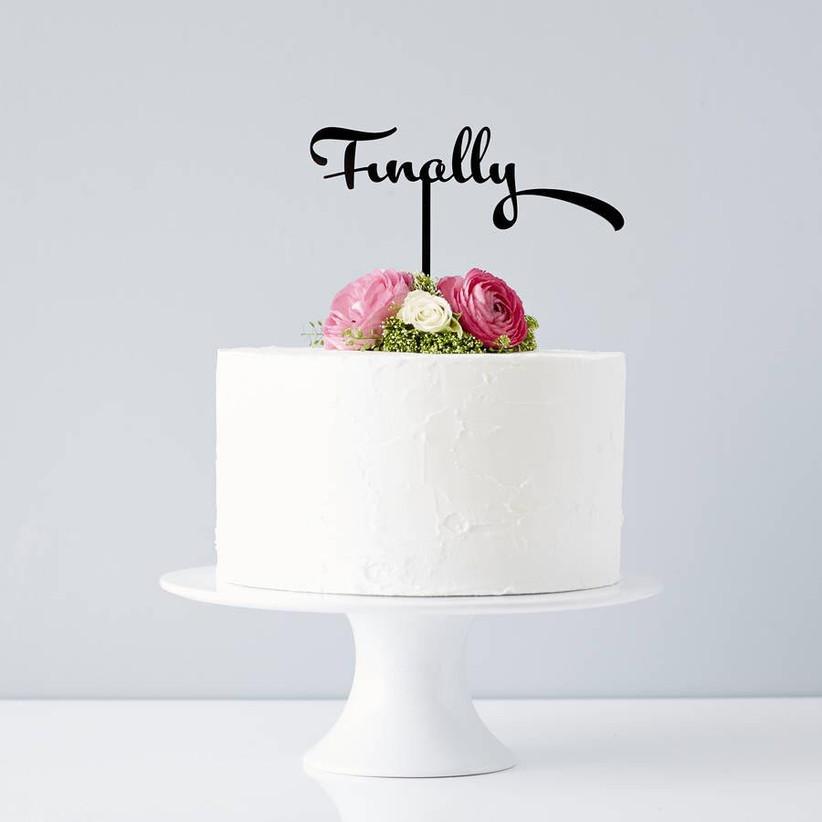 finally-wedding-cake-topper