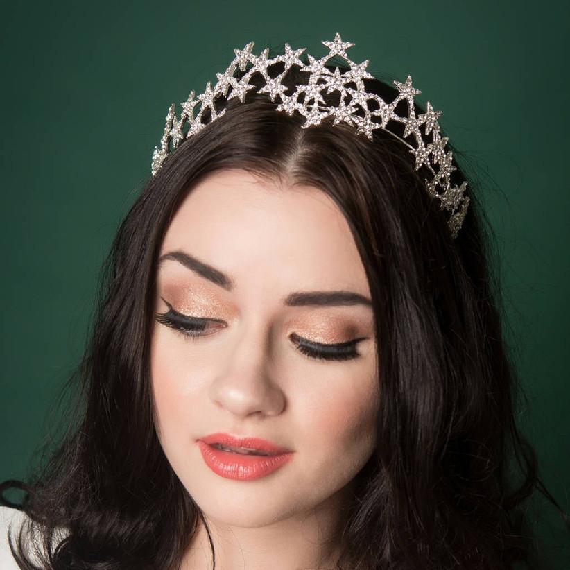 Etsy vintage star crown