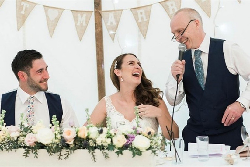 30 Best Father of the Bride Speech Jokes - Danielle Smith Photography