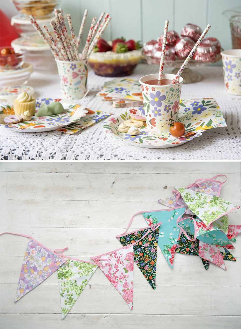 floral-bunting-and-paper-cups-2