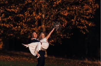First Look: Inside John Torode and Lisa Faulkner's Aynhoe Park Wedding