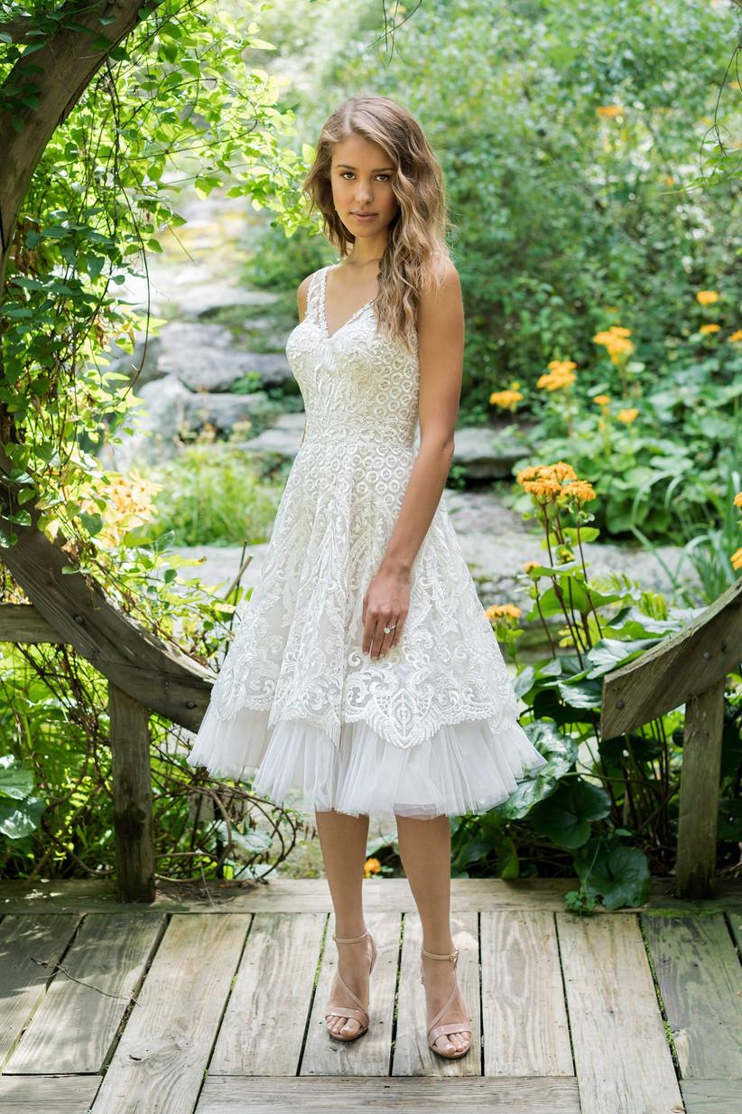 Best Short Wedding Dresses Lillian West 66026