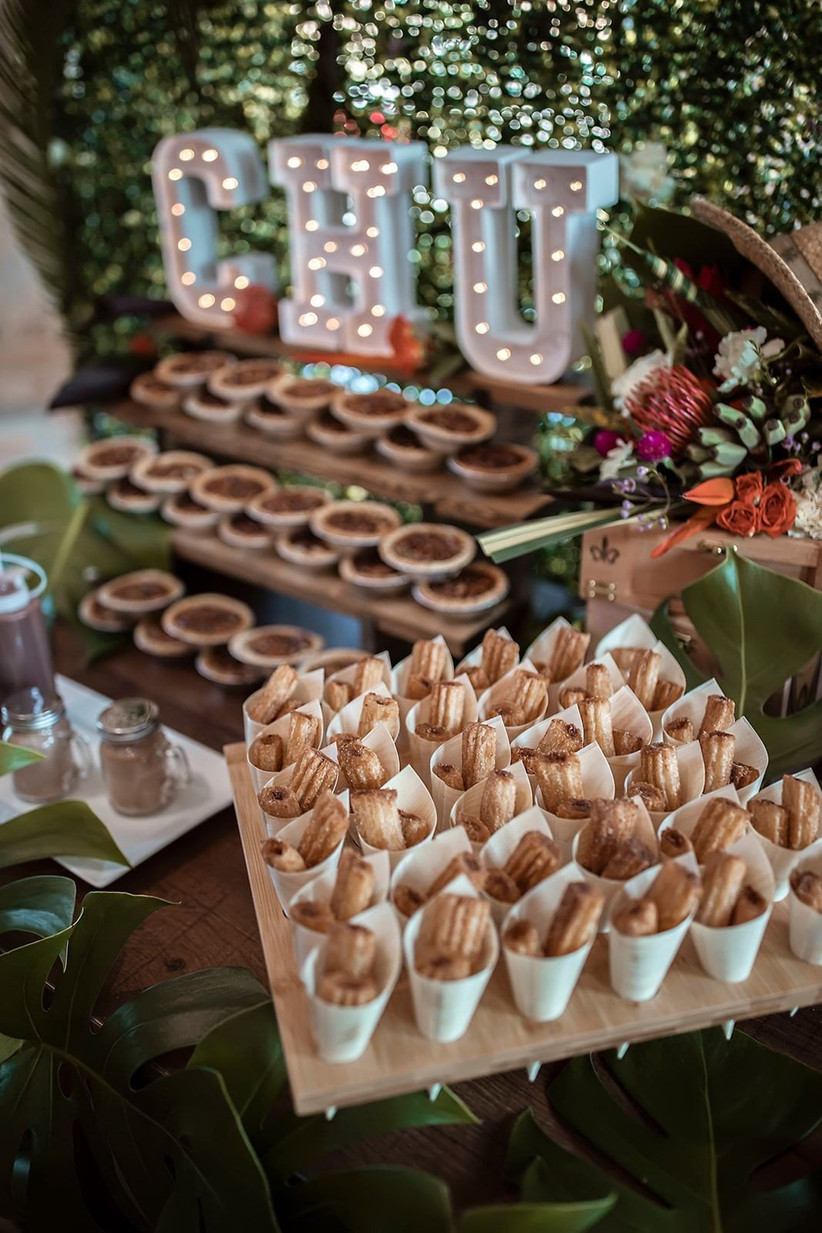 Have a churro bar at your wedding!