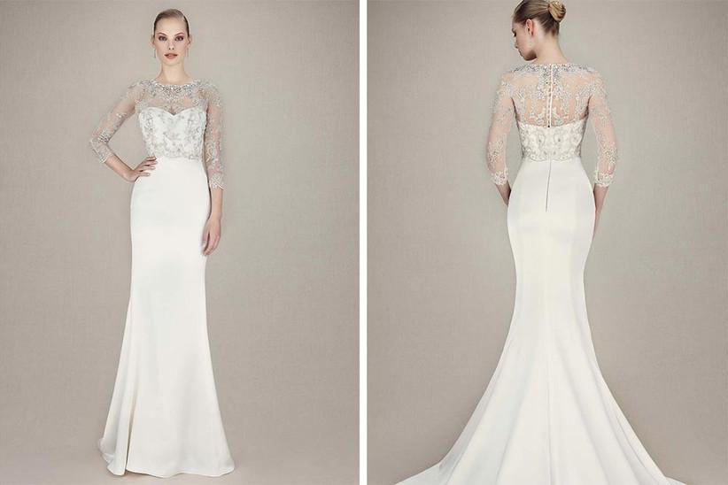 strapless-wedding-dress-with-detachable-jacket