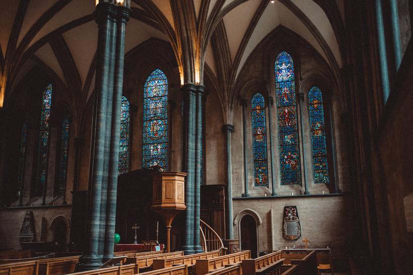 Interior of Temple Church