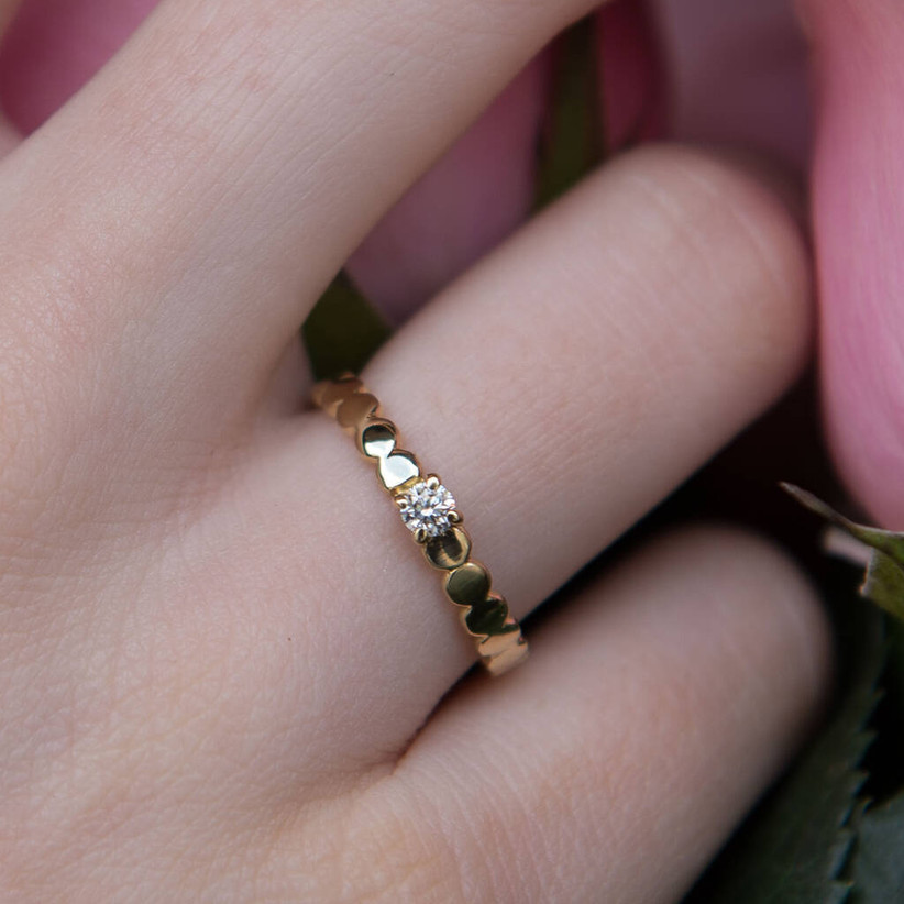 Unique engagement rings 12