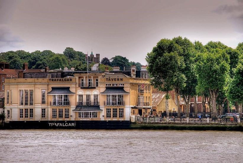 London Pub Wedding Venues The Trafalgar Tavern 2