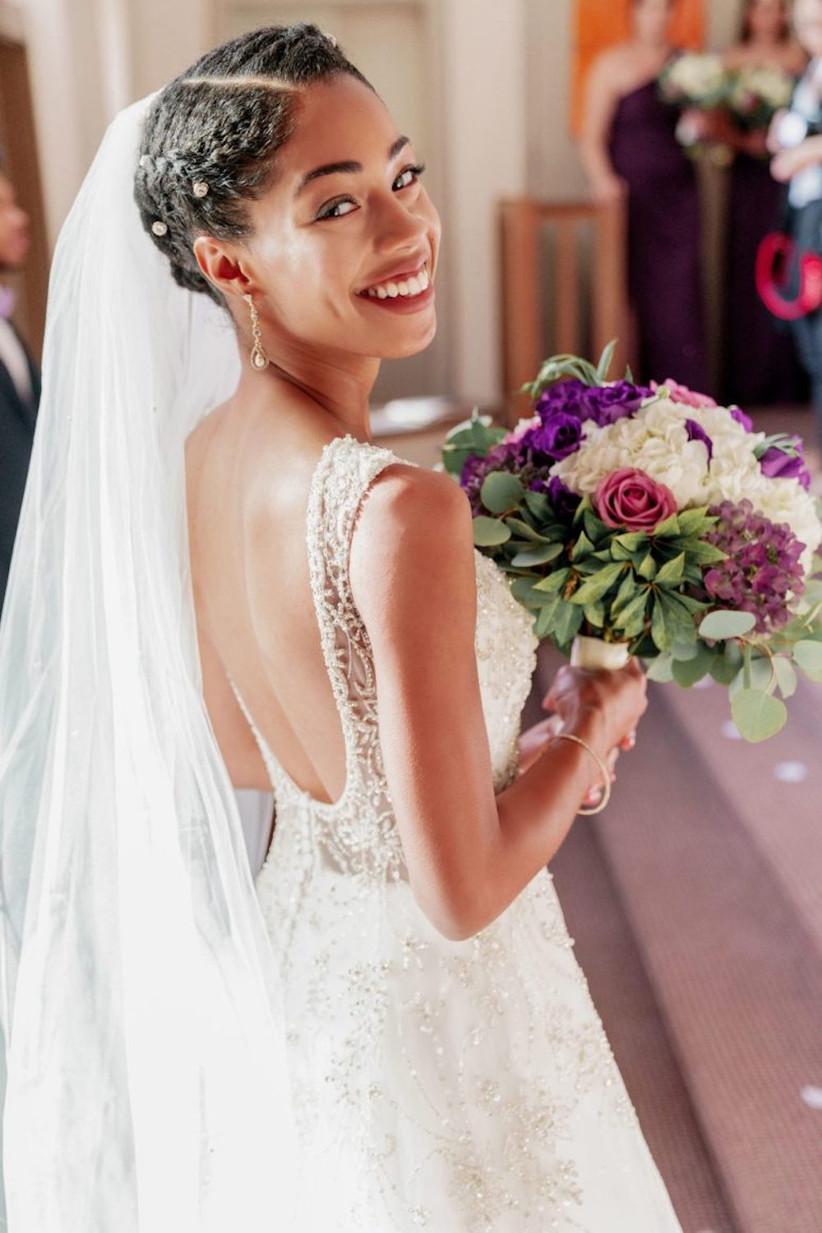 Black wedding hairstyles 7