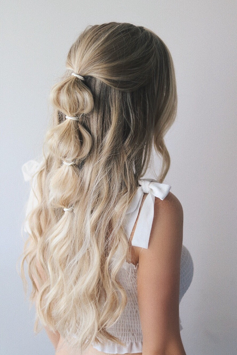 Best wedding hairstyles for long hair 33