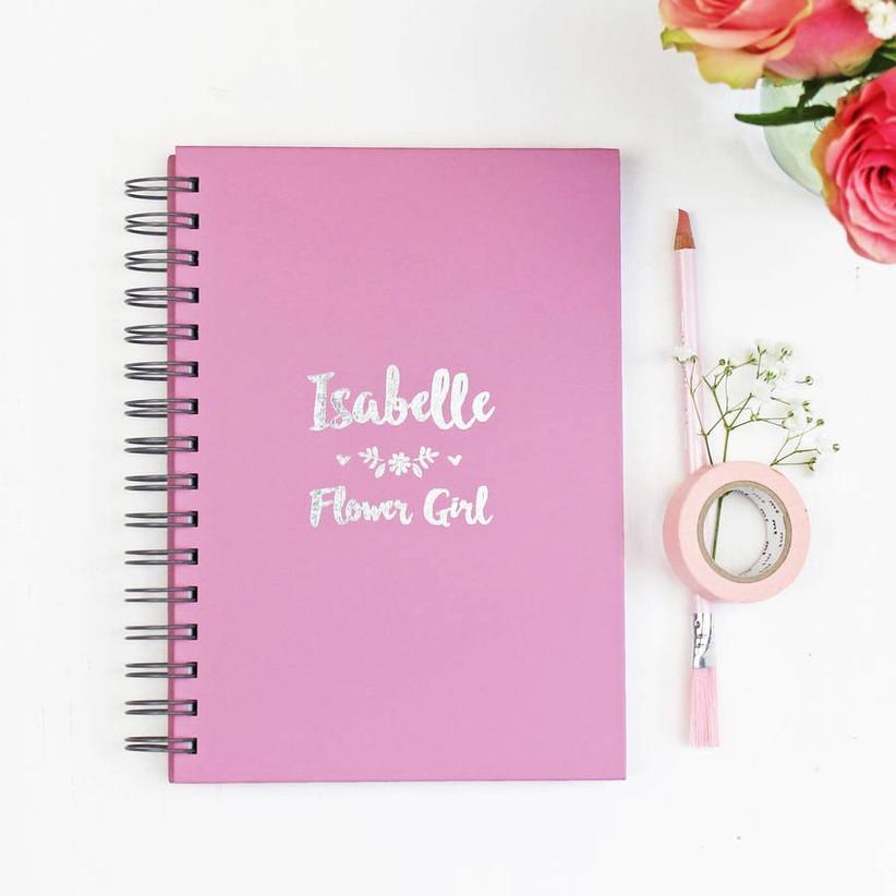 flower-girl-notebook-gift