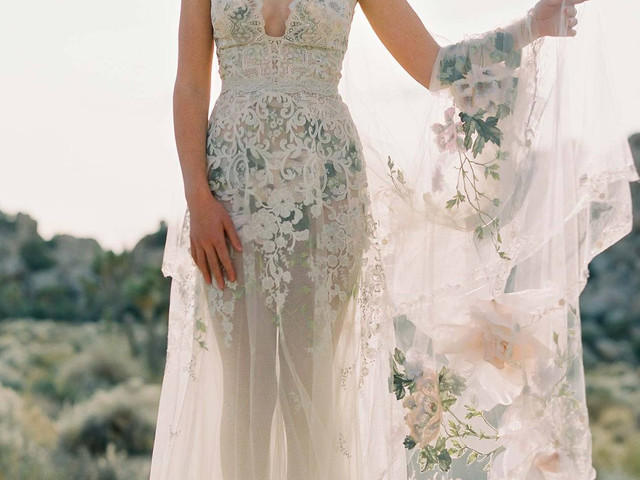 30 Floral Wedding Dresses Perfect for a Summer Wedding