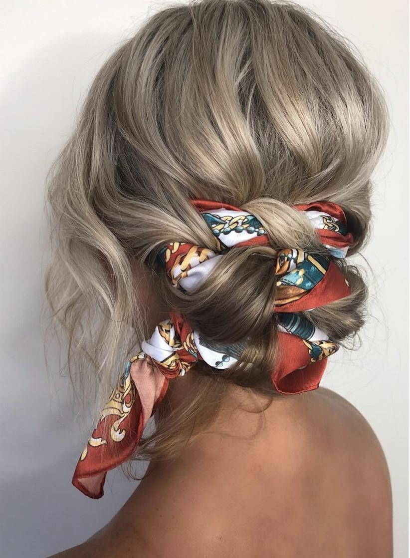 Wedding hair updo ideas 17
