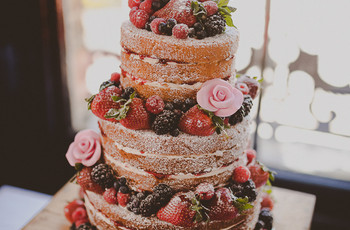 40 Gorgeous Rustic Wedding Cake Ideas