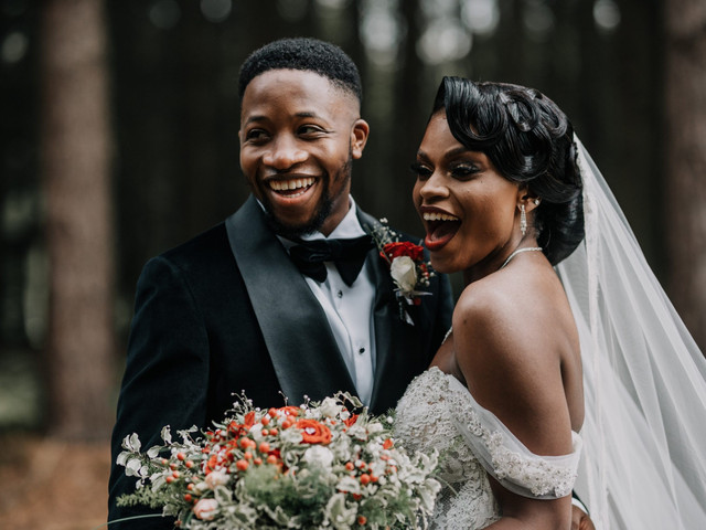 An Enchanted Forest-Themed Nigerian Wedding with a Pronovias Dress