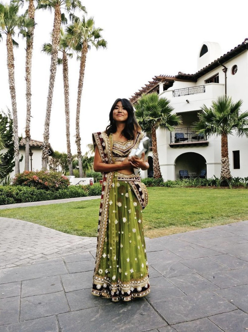 Indian wedding guest outfit 19